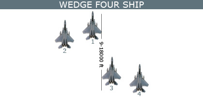 Wedge four ship