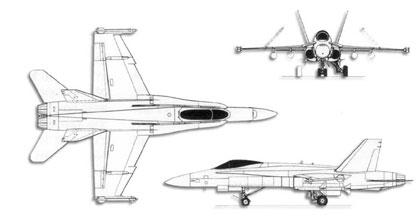 F 18_diagram_small aerei militari f a 18 hornet dati tecnici